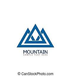 jel, hegy, ikon