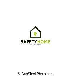 jel, otthon, biztonság