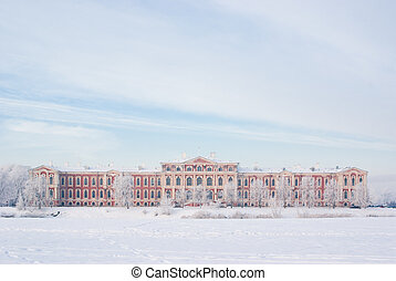 jelgava, 冬宮
