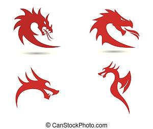 jelkép, ábra, sárkány