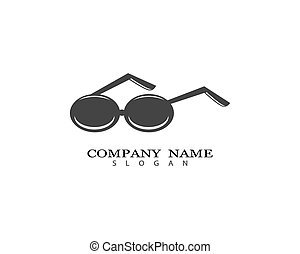 jelkép, ábra, szemüveg