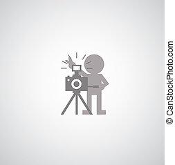 jelkép, fényképezőgép