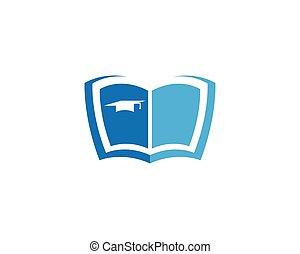 jelkép, könyv, ábra