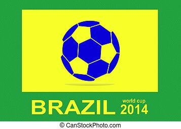 jelkép, közül, brazília, világbajnokság, 2014, f