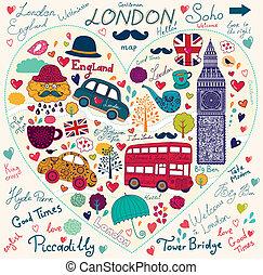 jelkép, london