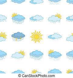 jelkép, meteorológiai, seamless