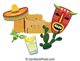 jelkép, mexikói