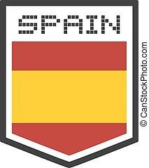 jelkép, spanyolország