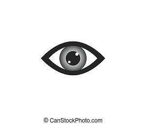 jelkép, szem, ábra
