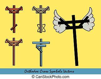 jelkép, tervezés, kereszt, ortodox