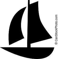 jelkép, vitorláshajó