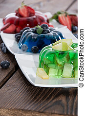 Jello (different sorts) - Jello (different sort: Apple,...