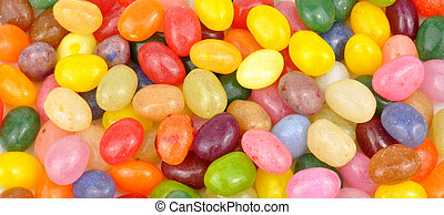 Jelly Beans Background