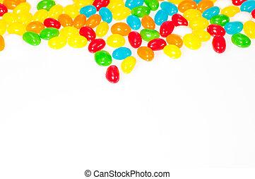 Jelly beans border