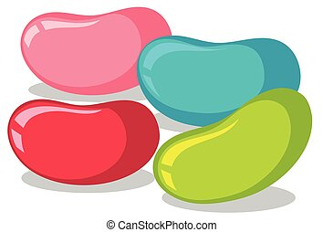 jelly beans clip art and stock illustrations 940 jelly beans eps rh canstockphoto com jelly bean clipart coffee bean clipart