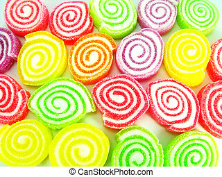 jelly candy background
