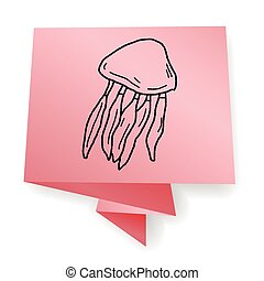 Jellyfish doodle