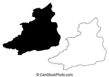 Jendouba Governorate (Governorates of Tunisia, Republic of ...