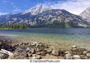 Jenny Lake in Grand Teton National Park, United States