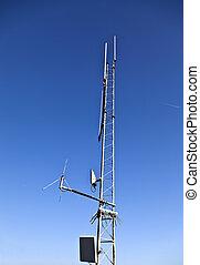 jer, du, pic, télécommunications, anten