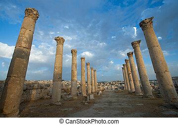 jerash, 都市, ヨルダン