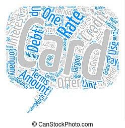 jerga, concepto, palabra, empresa / negocio, texto, parada, tarjeta de crédito, plano de fondo, aprender, frío, deuda, su, nube
