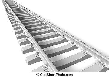 jernbane, begreb