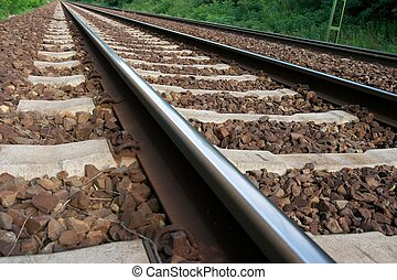 jernbane track