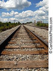 jernbane tracks