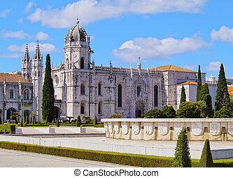 jeronimos, monasterio, lisboa