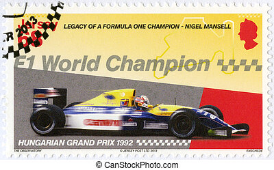 JERSEY - 2013: dedicated Nigel Mansell, F1 World ...