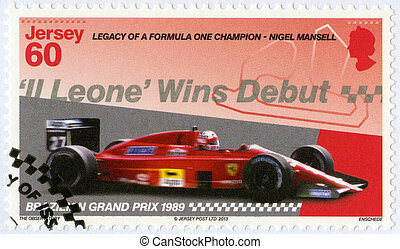 JERSEY - 2013: dedicated Nigel Mansell, First Formula One ...