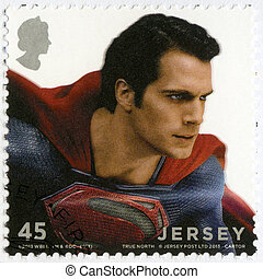 JERSEY - 2013: shows Man Of Steel - JERSEY - CIRCA 2013: A...