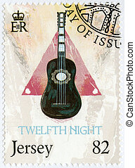 JERSEY - 2014: shows illustration from Twelfth Night, The 450th