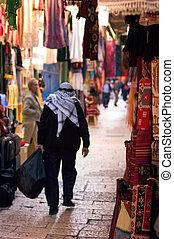 jerusalém cidade velha, mercado