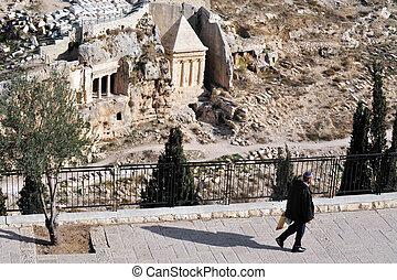 jerusalén, israel, aceitunas, monte