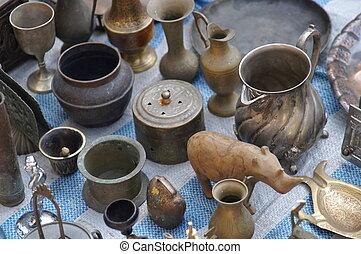 jerusalem, öster, antikviteter, marknaden