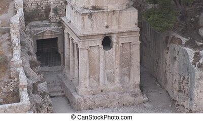 Jerusalem 4 - store scrolls in Jerusalem cemetery