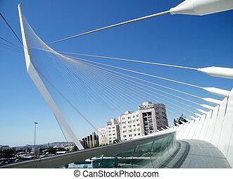 Jerusalem Calatrava Bridge 2010 - Calatrava Bridge in...