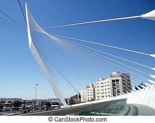 Jerusalem chords bridge 2010 - The new white chords bridge...