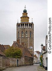 Jerusalem Church (Jeruzalemkerk), Bruges, Belgium