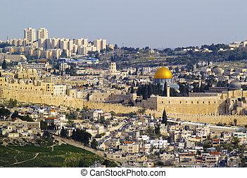 Jerusalem Cityscape, Israel