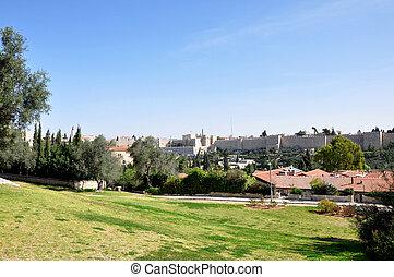 Jerusalem Cityscape.