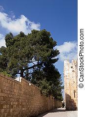 Jerusalem, inside the Old City