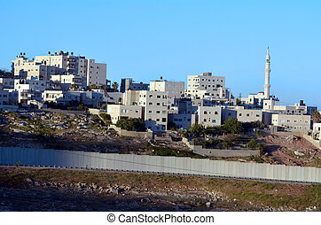 The Israeli West Bank barrier