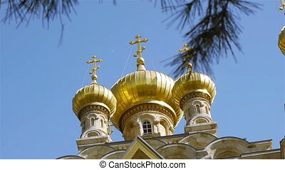 Jerusalem, Israel - Maria Magdalena Orthodox Church