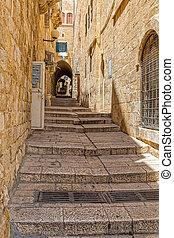 Jerusalem narrow street