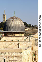 jerusalem old city - al aqsa mosque