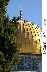 jerusalem old city - dome of the rock