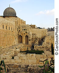 Jerusalem – old city, Israel, December...
